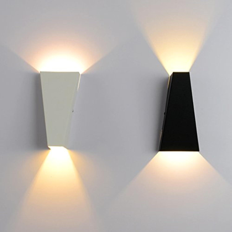 rotstone lighting Wand Wash Lights LED Schlafzimmer Nachttischlampe Wohnzimmer kreative Wasserdichte Wandleuchte (warmes Licht)