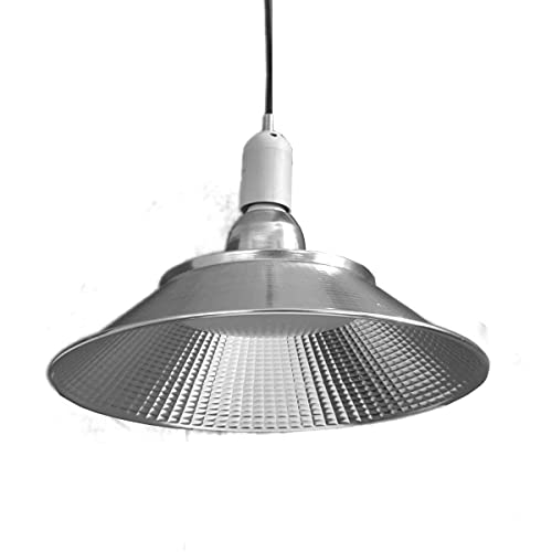 JANDEI - Bombilla LED E27 40W 6000K en forma de campana para taller, mesa almacén etc (4200K, 1 UNIDAD)