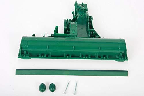 Hochwertiger Tunnel Getriebetunnel Bürstentunnel passend für Vorwerk EB360 inkl. Frontlippe (Gummilippe), 3 teilige Lippe, 2 Frontrollen mit befestigungs Schrauben