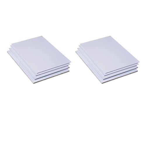 7er-Set Kunststoffplatten Bastelplatte für Modellbau Basteln