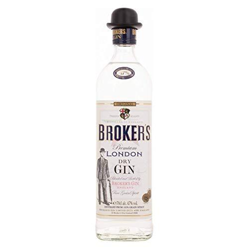 Broker's Premium London Dry Gin 47,00% 0,70 Liter