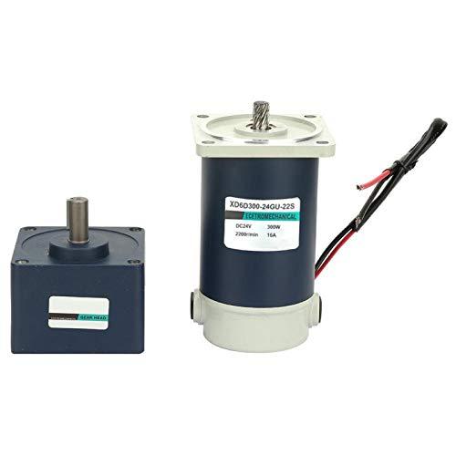 Motorreductor de reducción de eje de 15 mm 24 V 300 W CC para banco de corte para equipos médicos(300RPM, Pisa Leaning Tower Type)