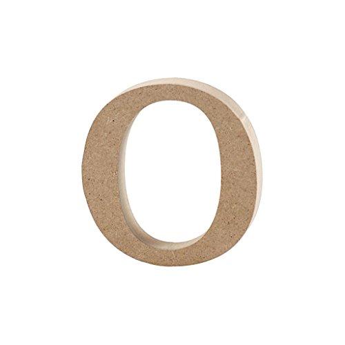 Lettre, h: 8,4 cm, épaisseur 2 cm, MDF, o, 1pièce