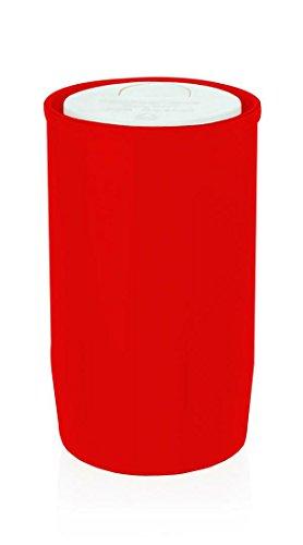 Wiedemann Ölkompositionslicht Brenndauer Circa 60 Stunden, Wachs, Rot, 10 x 6 cm, 20-Einheiten