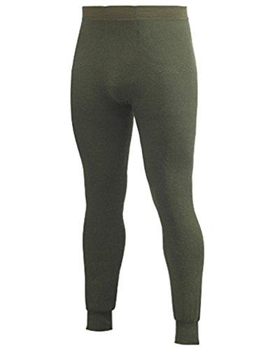 Woolpower Johns 400 Pantalon fonctionnel pour homme et femme Vert Taille XXS