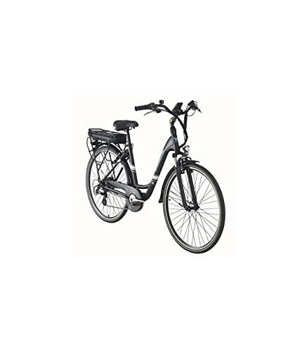 Grupo K-2 Wonduu Bicicleta Eléctrica Wayscral Everyway E200 28' Negra.Motor de 250 W. Batería de Litio 36V13Ah.Transmisión Externa Shimano Altus de 7 velocidades.Composición de Aluminio