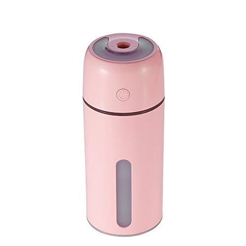Sencillo Vida Purificador de Aire Ultrasónico Humidificador Aromaterapia Difusor de Aceites Esenciales Aroma con Luz de Noche para Casa, Baño, Yoga, Sauna y Oficina