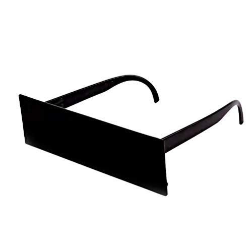 WINBST New Thug Life Gafas Trata con Gafas de Sol Mosaico Negro Gafas de Sol Gags novedosos y bromas prácticas Juguetes para niños