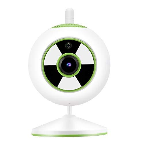 Xirfuni Cámara IP, cámara de Alta definición 1080P 1080P, Pantalla Clara de la cámara IP de Seguridad para el hogar(Green, European regulations)