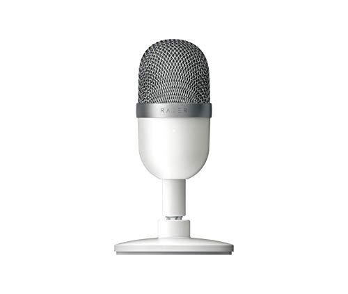 Razer Seiren Mini Ultra-Compact Streaming Microphone Mercury