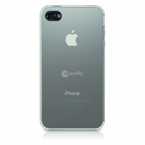 Macally FlexFitP4 Clear Flexible Protective Case for iPhone 4 - Clear