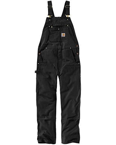 Carhartt Herren Bib Overalls, Black, W32/L30