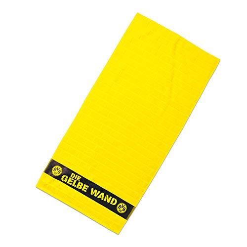 Borussia Dortmund, BVB-Duschtuch Gelbe Wand, Gelb, 70x140cm
