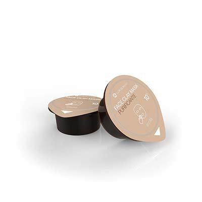 Cmagic® masque visage hydratant et purificant, à l'argile blanche et extrait de sauge, Lot de 3 dosettes de 10ml