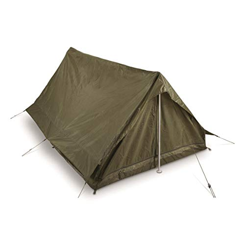 Surplus French Military F1 Tent, 2 Person, New, Olive Drab