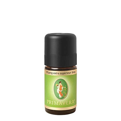 PRIMAVERA Ätherisches Öl Ylang extra supérieur bio 5 ml - Aromaöl, Duftöl, Aromatherapie - harmonisierend, entkrampfend - vegan