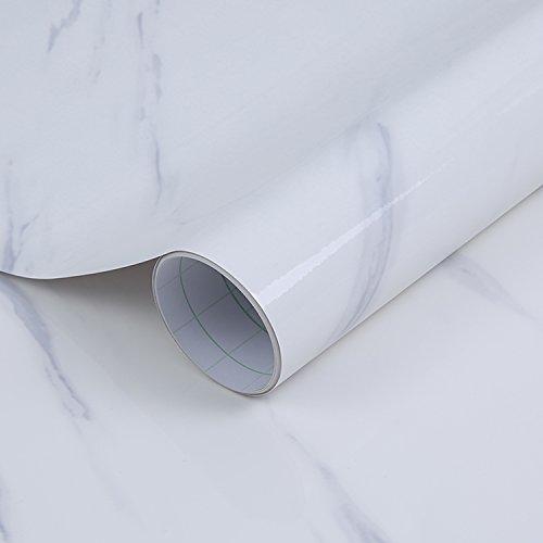 Surmounty Fliesenaufkleber Deko Folie 300x40cm, PVC Fliesensticker Fliesen Folie, selbstklebende Tapete Aufkleber Klebefolie, Wandfliese Sticker für Küche, Schrank, Möbel, Tisch (Typ 5)