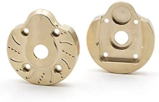 KYX Model Car UTB Axle Brass Heavy Weight Outer Portal Drive Housing Portal Cover Plates for 1/10 Rc Crawler Axial Capra Unlimited Trail Buggy