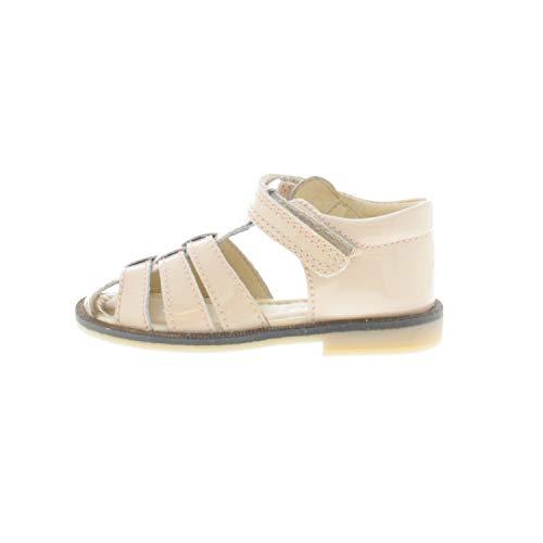 pom pom Schuhe für Mädchen Sandalen Beige 421022 (23)