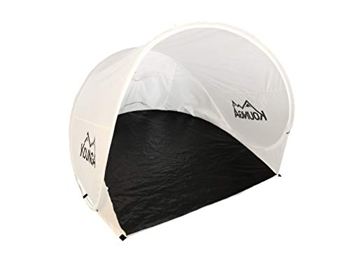 Kounga Tanaguarenas Flex Refugio Pop-up para Playa, travesía y Sol, Adultos Unisex, Blanco, Talla Unica