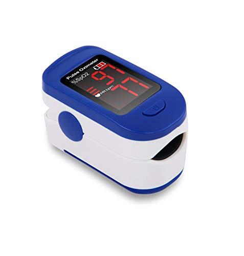 - Senza marca/Generico - Saturimetro ossimetro pulsossimetro Misura Battito da Dito Portatile