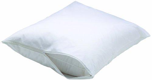 Aller-Ease Bettwanzenschutz, wasserdicht, Allergie-Schutz, Mikrofaser Standard weiß