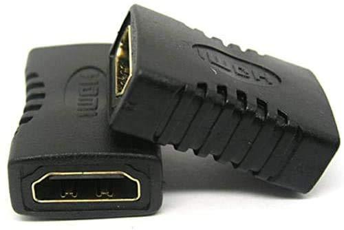 Accoppiatore HDMI, YAWALL adattatore HDMI femmina a femmina, connettore adattatore HDMI con 4K Ultra HD UHD 3D Full HD 1080p HDR.