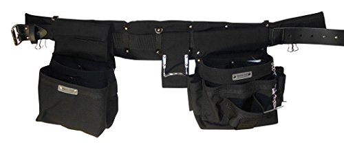 Boulder Bag 104XL-GR Electrician Comfort Combo w/Metal Buckle Belt Size Extra Large 40' to 44' .Color Gray. Made in U.S.A.