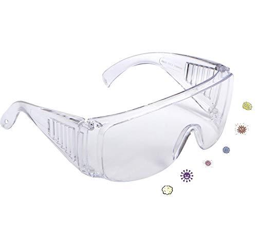 ロンドン屋 専用保護眼鏡 飛沫を防ぐ 防塵 メガネの上から掛けオーバーメガネ