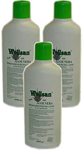 Wollsan Wollwaschmittel mit Aloe Vera und Lanolin (3 x 1.000ml)