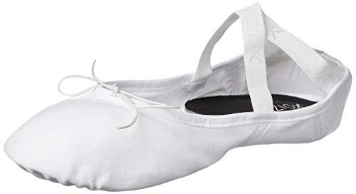 Capezio Herren Mr James Whiteside Ballet Shoes Tanzschuh, Weiß, 47 EU