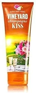 Bath and Body Works Vineyard Champagne Kiss Signature Collection Ultra Shea Cream 8 Ounce Lotion Retired Fragrance