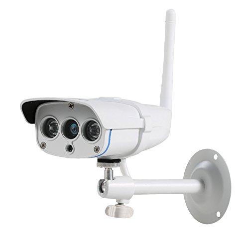 NexGadget Wasserdichte IP-Kamera, Schutzart IP67, für Außenbereiche, Infrarot, HD, Nachtsicht, Bewegungserkennung