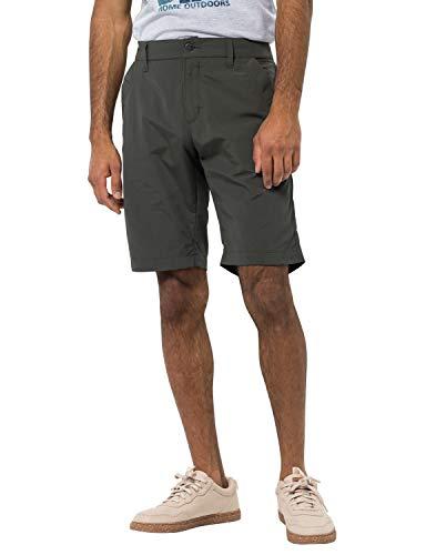 Jack Wolfskin Herren Desert Valley Shorts Men Schnelltrocknende Kurze Wanderhose, dark moss, 52 (L)
