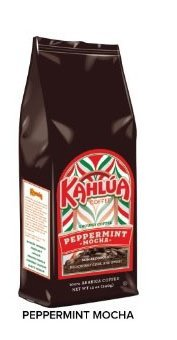 Kahlua Peppermint Mocha Gourmet Ground Coffee 12oz