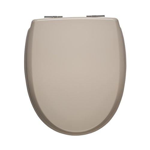 WC Sitz mit Absenkautomatik | Premium Toilettensitz mit Absenkmechanismus und Quick-Release Funktion zur einfachen Reinigung | Qualitätsprodukt Made in Sweden (sand)