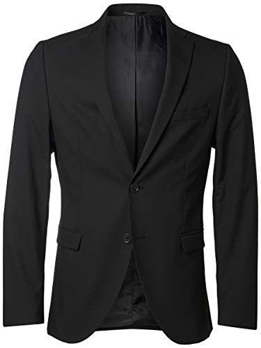 SELECTED HOMME Herren Blazer Slim-Fit- 50Black