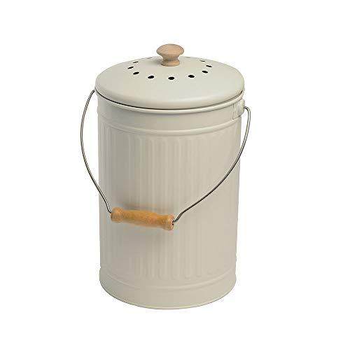 Eddingtons 7 Liter Komposteimer Kreide