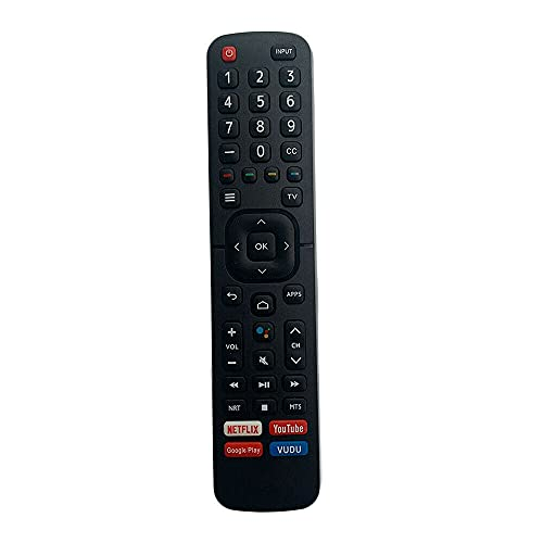 Replacement Remote Control Replace for TV/AC for Hisense TV H8F H9F Series 50H8F 55H8F 55H9F 65H8F 65H9F