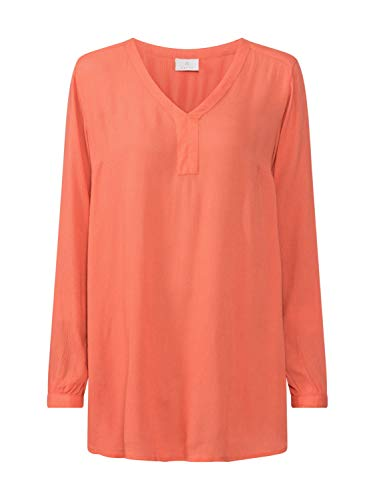 KAFFE Damen Tunika Amber orange 36 (S)