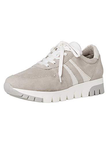 Tamaris Damen 1-1-23749-26 Sneaker, LT.Grey SU/STR, 39 EU