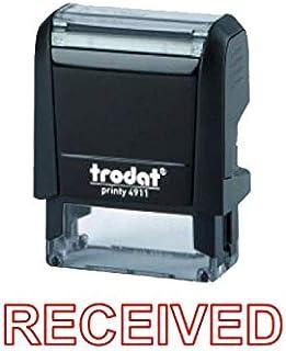 Trodat Printy 4911 Stamp RECEIVED