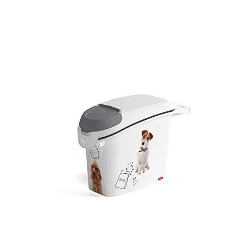 Curver Love Pets Pet-Futter-Container Futtercontainer Behälter Futterbehälter Futtertonne (Hund, 6kg)