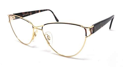 Vogart 3035 134 - Gafas de vista para mujer, diseño de tortuga y oro, estilo vintage