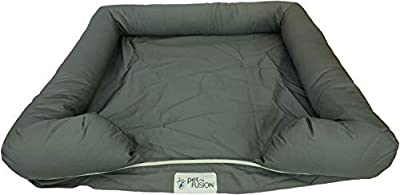PetFusion Memory Foam Dog Bed for Medium and Large Dogs