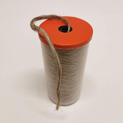 Dichtungshanf/Dichtungsflachs im Spender, UNIFLAX 80 Gramm Abdichten von Gewindeanschlüsse