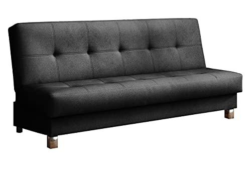 Mirjan24 Schlafsofa Enduro XI mit Bettkasten, 3 Sitzer Sofa, Couch mit Schlaffunktion und Bettfunktion, Bettsofa Polstersofa, Lounge Sofa Wohnlandschaft...