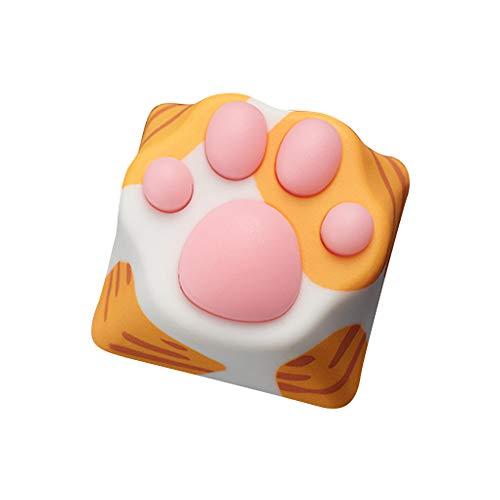Keyboard keycaps Cat Paw