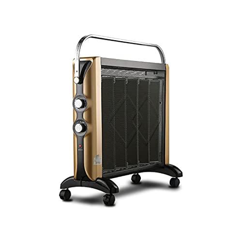 Calefactores Calentador de Panel térmico Mica Freestanding 2200 vatios Radiante y Calentador de Espacio de convección con protección de Seguridad