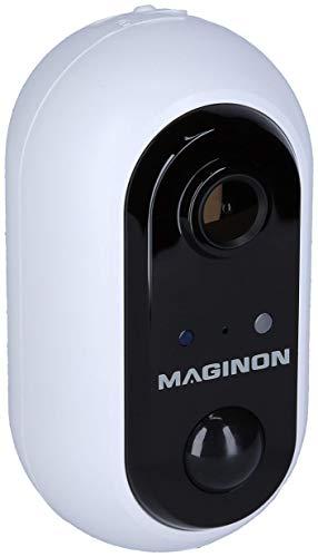 Maginon Outdoor Überwachungskamera IP 138 Wireless, kabellose wetterfeste Full HD mit Bewegungserkennung